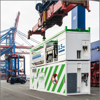 The next milestone for the Becker LNG PowerPac® in the Port of Hamburg